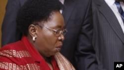 Nkosazana C. Dlamini-Zuma (2008 file photo).