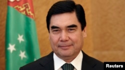Presiden Turkmenistan Kurbanguly Berdymukhamedov telah berkuasa selama 10 tahun (foto: dok).