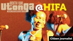 Le Festival international des arts de Harare (HIFA) , 17 avril 2013.