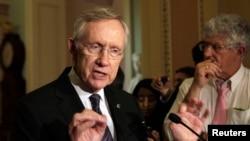 美國聯邦民主黨參議員里德於2013年6月18日。