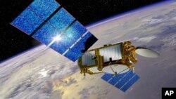 د امریکا د فضایي تحقیقاتو د ادارې د سمندري څیړنو یوه ستلایت