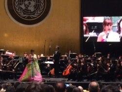 [뉴스 풍경] 유엔 창설 70주년 평화콘서트 열려