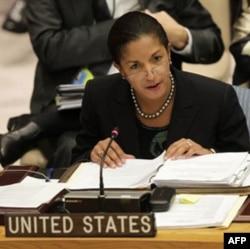 Amerika diplomati Syuzan Rays