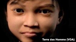 Bé gái ảo Sweetie 10 tuổi đã giúp phát hiện hơn 1.000 kẻ ấu dâm.