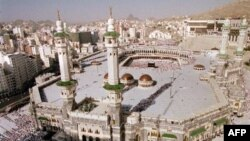 Главная мечеть Мекки. Саудовская Аравия. 2000 г.