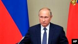Perezida Vladimir Putin w'Uburusiya