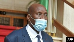 Vice-Président ya Côte d'Ivoire na Abidjan, le 13 juillet 2020.