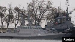 روس کی جانب سے پکڑے جانے والی یوکرین کے جہاز