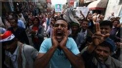 تظاهرات در تعز. ۳۰ نوامبر ۲۰۱۱