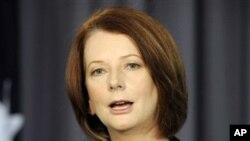 ນາຍົກລັດຖະມົນຕີອອສເຕເລຍ ທ່ານນາງJulia Gillard