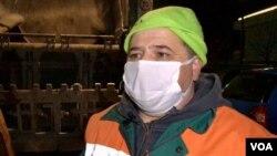 Refik Kandić, radnik komunalnog preduzeća Rad