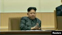朝鲜领导人金正恩。(资料照)