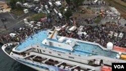 Turski brod sa humanitarnom pomoći za Gazu