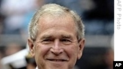Former US President George W Bush Debuts as Motivational Speaker