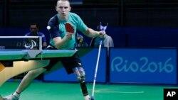 Украинский паралимпиец Виктор Дидук