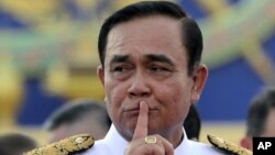 PM Thailand Prayut Chan-ocha menghadapi tuduhan manipulasi pemilu (foto: dok).