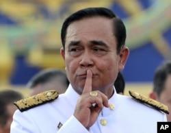 ထိုင္း ဝန္ႀကီးခ်ဳပ္ Prayuth Chan-ocha