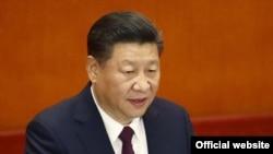 시진핑 중국 국가주석이 지난해 10월 베이징 인민대회당에서 진행된 제19차 공산당 전국대표대회에서 연설하고 있다.