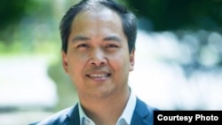 Sokhary Chau, 44, is running for the city council as a unifier, in Lowell, Mass. (Courtesy Photo)