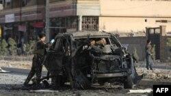 افغان حکومت کے ترجمان کا کہنا ہے کہ کار بم دھماکہ قصابہ کے علاقے میں صبح سات بجکر 25 منٹ پر ہوا۔