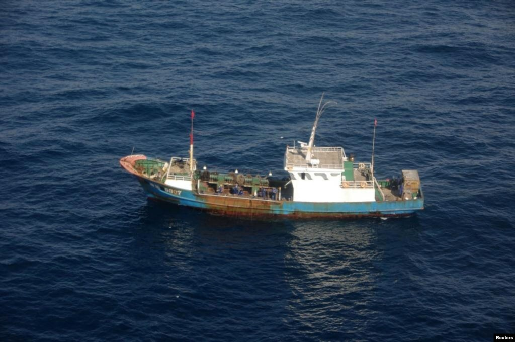 China detained chinese fishermen released in japan for Japanese fishing boat