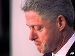 Eski Başkan Bill Clinton