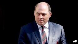 بن والاس، وزیر دفاع بریتانیا