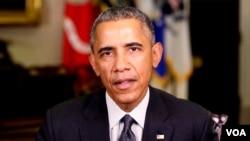 Presiden Obama mengatakan militer AS tidak kalah melawan militan ISIS (foto: dok).