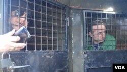 ფოტოზე: პატიმრების გაცვლის პროცესი ჭუბურხინჯში