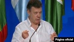 El presidente Juan Manuel Santos siempre dijo estar dispuesto a buscar una salida negociada al conflicto con la guerrilla.