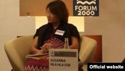 ကရင္အမ်ိဳးသမီးဖြံ႔ၿဖိဳးေရးအဖြဲ႔ကို မတည္သူ - Naw Susanna Hla Hla Soe.