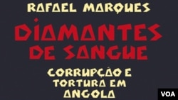"Capa do livro ""Diamantes de Sangue"", de Rafael Marques"
