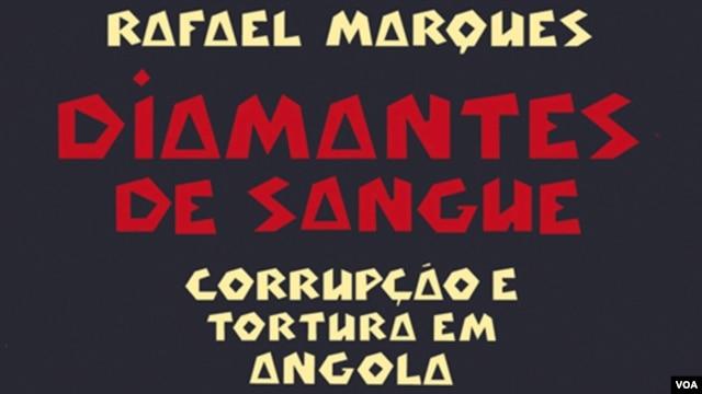 "Capa do livro ""Diamantes de Sangue"", de Rafael Marques."