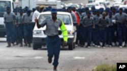 Police confirmed Jabulani Sibanda's arrest saying he faces charges of undermining the authority of the president.