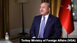 مولود چاووشاغلو وزیر خارجه ترکیه