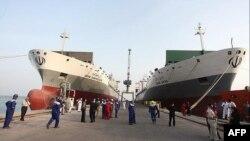 Tàu của công ty vận tải Iran