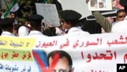 شامی صدر جلد امن منصوبے پر دستخط کریں گے: عرب عہدے دار