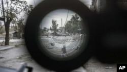 Сирия сквозь прицел снайпера