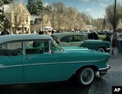 史托克伯雷杰大街上的古董车