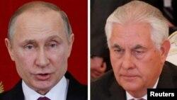 Президент Путін і державний секретар Рекс Тіллерсон