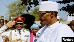 Le président nigérian Muhammadu Buhari, 13 janvier 2017.