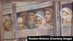 """Картина Рустема Емінова """"Депортація"""""""