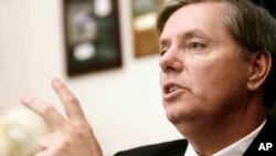 Senator Lindsey Graham (file photo)