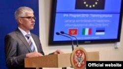 Šef Delegacije EU u Crnoj Gori, Mitja Drobnič