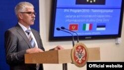 Šef Delegacije EU Mitja Drobnić