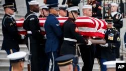 Gawar tsohon shugaban kasar Amurka George H.W. Bush.
