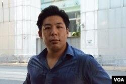 「西環飛躍動力」成員劉偉德表示,懷疑「種票」個案有增加趨勢,可能是北京介入香港的選舉。(美國之音湯惠芸)
