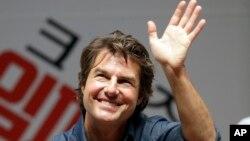 El actor Tom Cruise que suele pilotear su avión no se encontraba a bordo de la nave siniestrada.