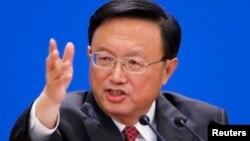 양제츠 중국 국무위원 (자료사진)