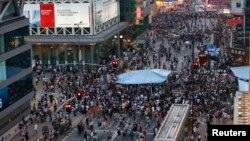 Gonkongning Mongkok tumani, 4-oktabr, 2014